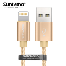 Buy Suntaiho iPhone 8 plus Fast Charging Nylon USB Cable iPhone X Cable USB Charging Date Cable iPhone 7 plus 6s plus for $0.99 in AliExpress store