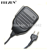 New Shoulder Remote Speaker Mic Microphone PTT For I-com Yaesu Vertex Two Way Radio 2pin With Free Shipping(China)