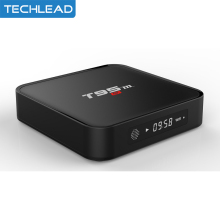 T95M Android 6.0 Smart TV box quad core S905x 1GB/2GB 8GB wifi network Set top box 4K H.265 TV video decoding HD Media player