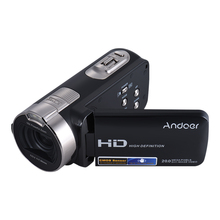 Andoer HDV-312P 2.7 Inch Rotating LCD Screen Digital Video Camera Full HD 1080P 16x 20 MP Portable Camcorders DV With 32G Card
