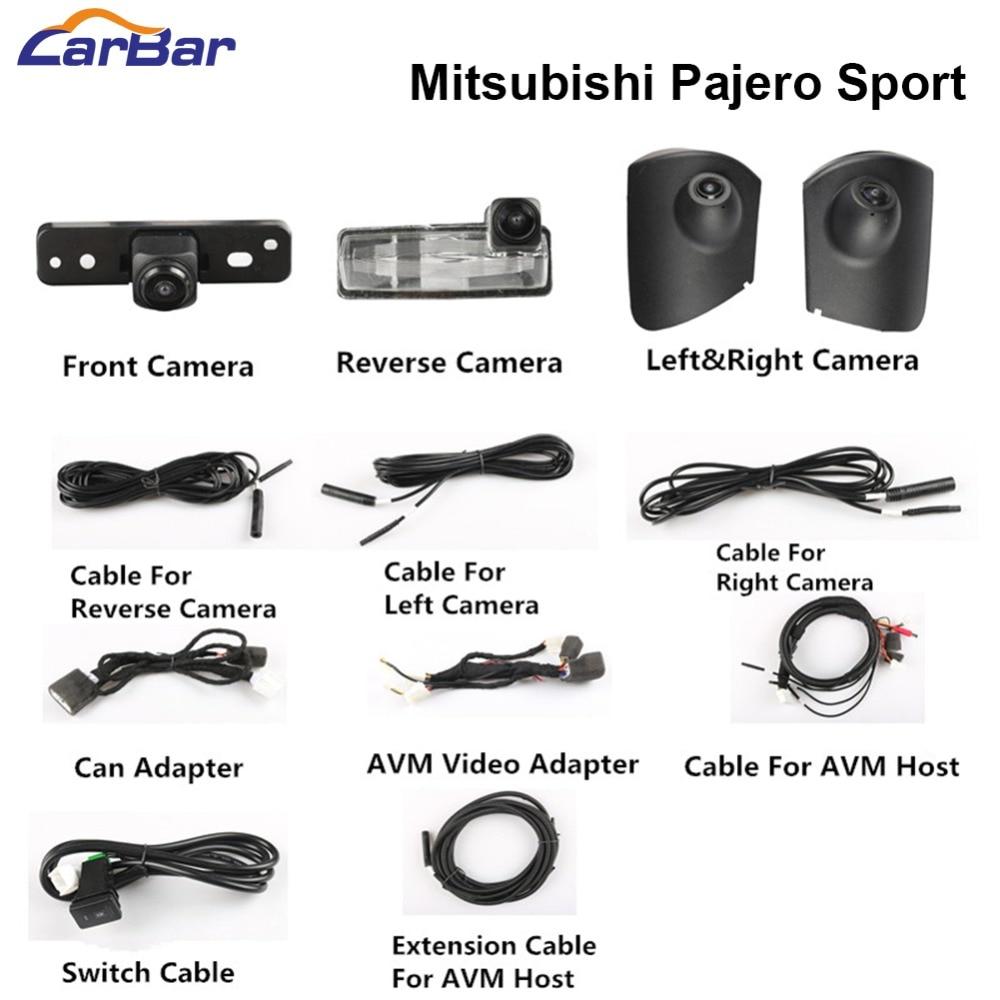 360 camera for Mitsubishi Pajero Sport (1)
