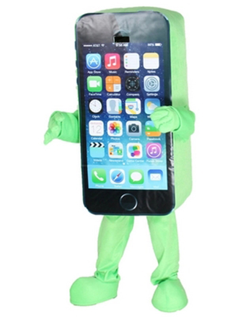 2014Hot-sale-Mascot-Costume-Cell-Phone-Apple-iPhone-5C-Adult-Size (5)
