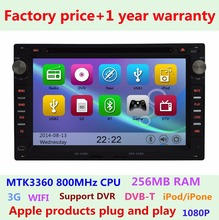 7 inch For VW Volkswagen FOX Passat b5 Polo Golf 4 Car DVD Player 3G WiFi Bluetooth ipod Radio USB SD GPS Navigation system(China)