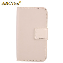 ABCTen Pure Color PU Leather Cell Phone Accessories Credit card Slot Case For Alcatel OneTouch POP C9 7047D(China)