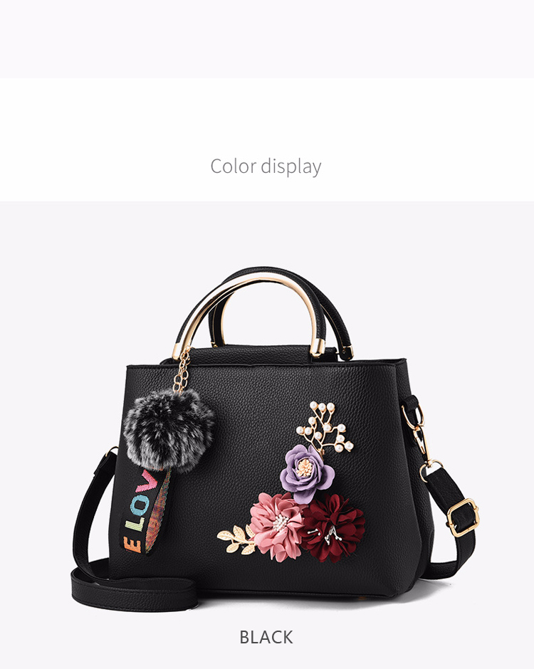 ETALOO Flowers Shell Ladies Handbags | Tote Leather Bag 10