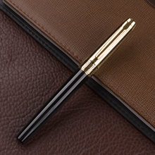 Luxury Stationery Executive Office Supplies  black and gold fountain pens unique  writing brand gift pen