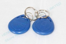 125KHZ RFID tag keyfobs rewritable copy clone key 2 pcs, used in push button start/stop system with immobilizer ring TAG01