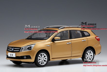 *Gold 1:18 Dongfeng Nissan VENUCIA T70 SUV Diecast Model Car Gifts Model Car Kits Simulation Model Limited edition Van Mini Bus