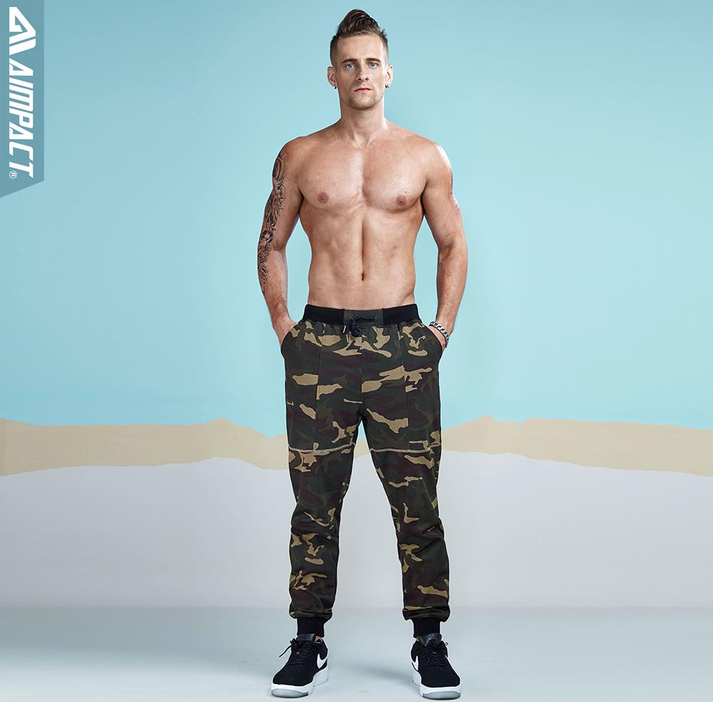 Aimpact 2017 New Camouflage Jogger Pants Men Cotton Sweatpants  (2)