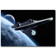 Star Trek 3 Beyond Art Silk Fabric Poster Print 13x20 24x36inch New Movie USS Enterprise Picture for Room Wall Decor 027