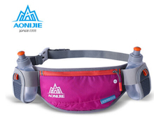 AONIJIE High Quality Outdoor Men Women Sport Pocket Super Light Two Size Waist Packs Marathon Cross Country Road Running Bag(China)
