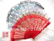 Sandalwood fan High grade Single rose wooden folding fan Gift small household products mixed batch(China)