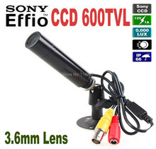 Best Price Genuine Sony CCD 600TVL Waterproof Micro Video Surveillance Small Bullet Mini Security CCTV Camera MINI Bullet CAMERA