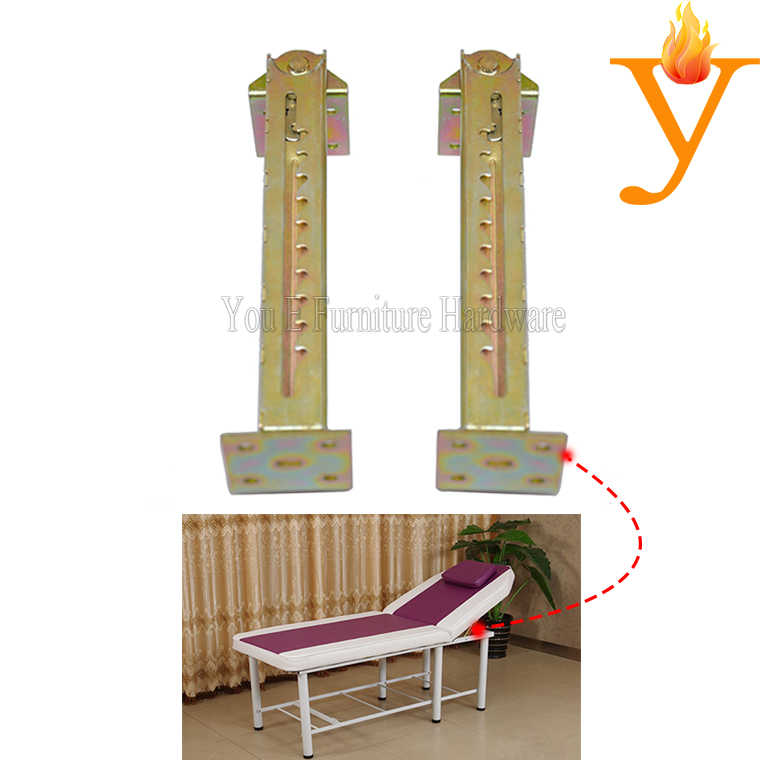 10 gears Furniture Hinge and Furniture Frame for adjusting the facial bed headrest D40-1(China)