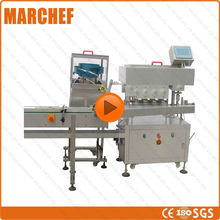 Automatic Straight line Plastic/ Iron bottle capping machine(China)