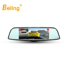 Beling V718 Android 4.4 GPS Rear View Mirror Car DVR 7in Touch Screen Navigator FHD Dash Cam 16GB WiFi Vehicle Sat Nav Rear Cam