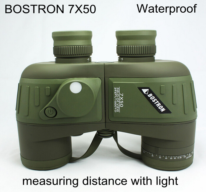 7X50 High quality Hd wide-angle Portable LLL Night Vision waterproof Binoculars telescope not infrared can measure the distance<br><br>Aliexpress