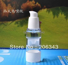 30ml  airless pump bottle or lotion bottle with bird mouth shape pump  can used or Cosmetic Container