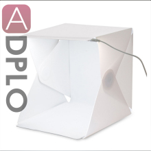 "Portable Mini Photo Studio Box Light Room Camera 9"" Photography Lighting Tent Kit Mini Backdrop built-in Light Photo Box"