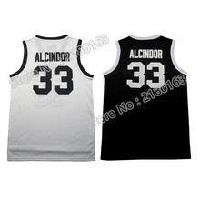 High school Alcindor 33 basketball jersey Throwback Kareem Abdul-Jabbar #33 jersey cheap wholesale Embroidery Logo Free Shipping