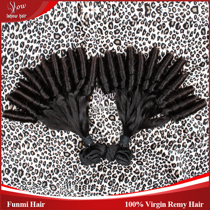8A Aliexpress Brazilian Hair Funmi Human Hair Weave Nature Black Color 1B# 2Pieces/Lot Ishow Company Best Quality Hair Extension<br><br>Aliexpress