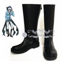 Anime SERVAMP Sleepy Ash Black Cat Kuro Vampire cat punk cosplay costume boots lolita punk shoes