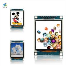 1pcs 1.77 inch TFT LCD screen 128*160 1.77 TFTSPI TFT color screen module serial port module(China)