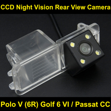FOR Polo V (6R) Golf 6 VI / Passat CC CCD Car Rear view Camera BackUp Reverse Parking Camera