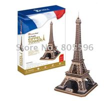 Educational Building toy,3D DIY Models,Home Adornment, Puzzle Toy,Paper model,Papercraft,EIFFEL TOWER