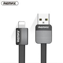 For iPhone Cable IOS 10 Remax 2.1A Fast Charging 1m Flat Usb Charger Cable wire cobo Sync Data Cable For Apple iPhone 7 6 5 ipad