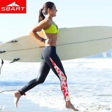 SBART New  Upf50 UV Women Rash Guard Pants  Sports Leggings  Long Swim Pants Lycra Surf Rashguard Bottom