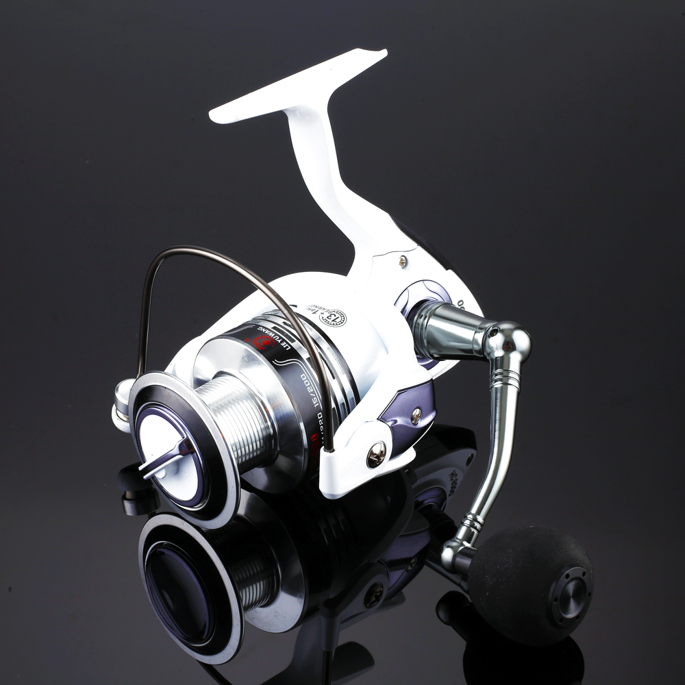 New Design Top quanlity Spinning Fishing Reel Carp Ice Fishing Gear 5.2:1 Real 13+1BB casting pole rock wheel<br><br>Aliexpress