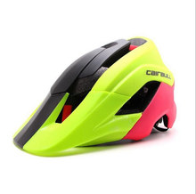 latest raceday half full face Helmet Casco Ciclismo Para Bicicleta Flux brand men MTB mountain bike Bicycle cycling helmet(China)