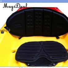 MagiDeal Adjustable Comfy Backrest Non-slip Padded Seat Back Nylon Sit On Top Kayak Canoe Boat Dinghy Cushion Fishing SUP Acce