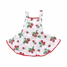 Baby girl clothes kids sleeveless flounced tiered sundress toddler Rubber band waist strap dress infant A-line clothing set best