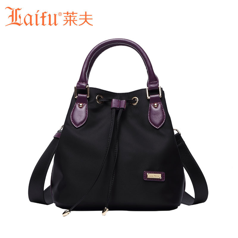 Laifu Women Famous Brands Designer Nylon Bags Luxury Handbags Canvas Bucket Bag Waterproof for Ladies<br><br>Aliexpress