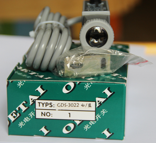 GDS-3022  white/blue color photoelectric sensor switch Making electromechanical<br>