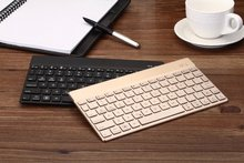 Wireless Bluetooth 3.0 Keyboard Ultra Slim Aluminium Keyboard suit Android Windows IOS Devices for ipad Samsung