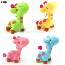 Cute Giraffe Soft Toy Stuffed Animal Doll Kid Children Birthday Christmas Gifts  #T026#
