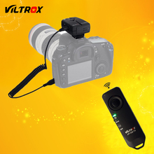 Viltrox JY-120-C3 2.4GHz Wireless Camera Remote Shutter Release for Canon 20D 40D 50D 1D 6D 7D 5D Mark II III IV 7DII(China)