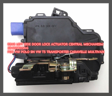 free shipping REAR LEFT DOOR LOCK ACTUATOR CENTRAL MECHANISM 3B4839015AG FOR VW POLO 9N VW T5 TRANSPORTER CARAVELLE MULTIVAN(China)