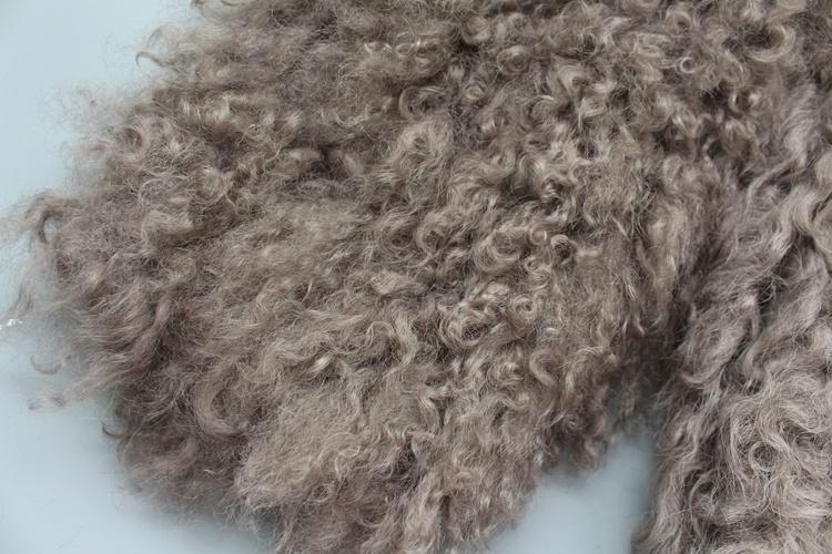 women natural lamb sheep fur coat (25)