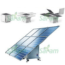 Movable 400W Solar Power Generators System Kits 220V 110V(China)