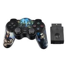 2.4G Wireless Gamepad for PS2 Joystick With USB Interface Game Pad Digital Controller TURBO