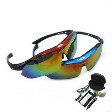 New Men Cycling UV 400 Sunglasses Eyewear Outdoor Sport Glasses Original Gift Box Package Riding Bicycle Goggles(China)