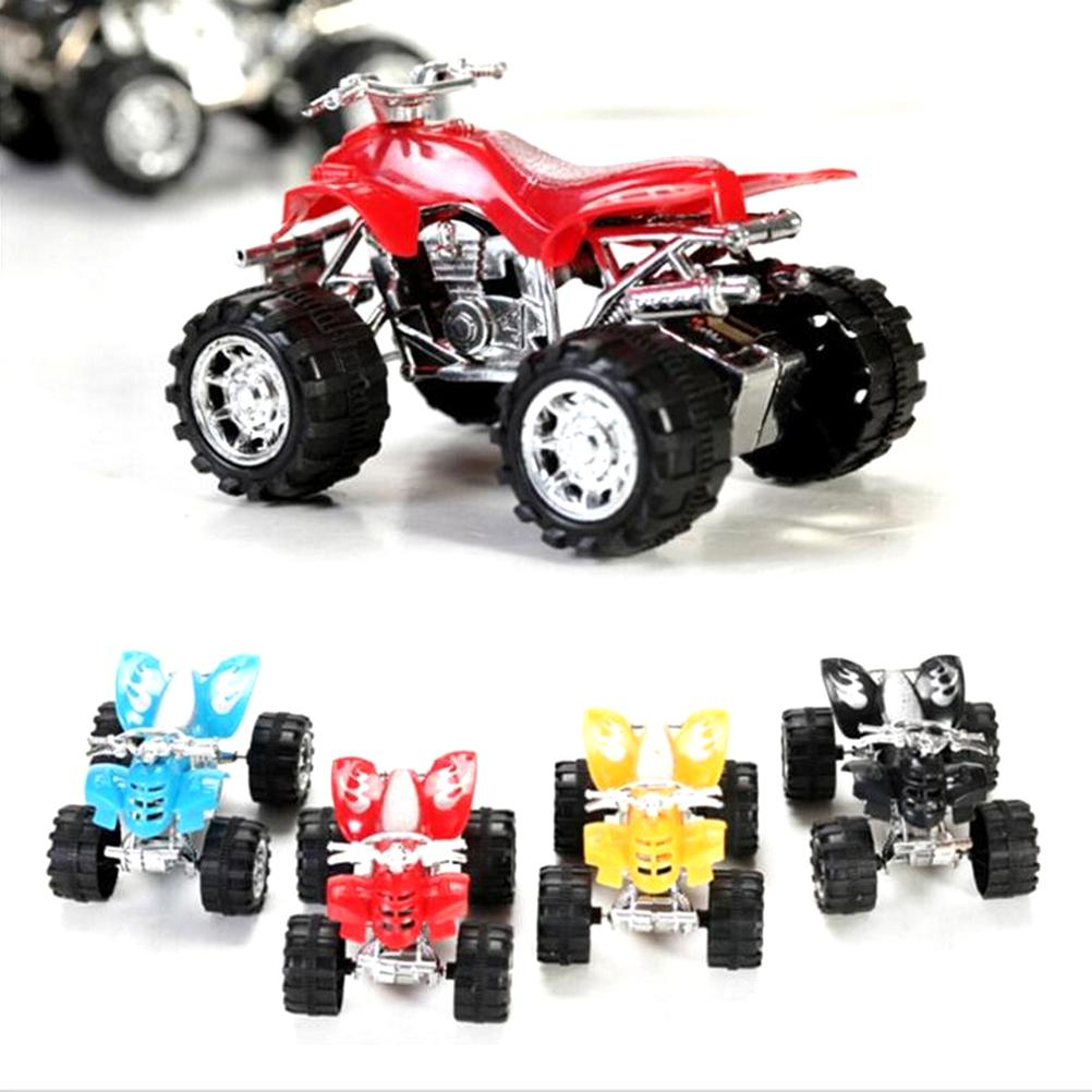 New Mini Simulation Pull BacK Beach Motorcycle Toy Traffic Vehicle Children Education Toy Individuality Present Gift(China)