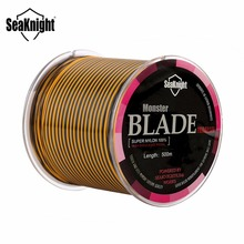 SeaKnight Brand Blade Series 500M Nylon Fishing Line Multi Color Monofilament Mono Nylon Line Japan Material 8-25LB Fish line(China)