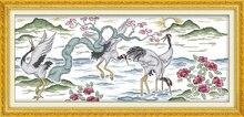 Радость воскресенье звериный стиль долголетие кран вышивка крестиком Шаблоны Бесплатная Счетный кружево ремесло подарок для украшения до...(China)