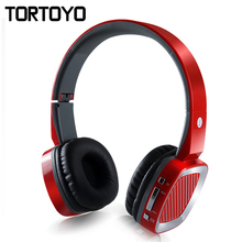 TH390 Brand Foldable Surround Headband Wireless Bluetooth Headphone Headset Support TF Card FM Radio MP3 Player for Smart Phone(China)
