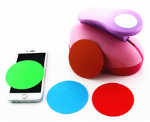 extra large paper punch 3'' 75mm circle furador paper punches for scrapbooking craft perfurador diy puncher circle cutter3181(China)